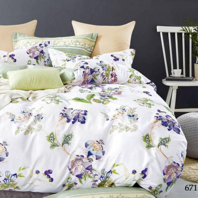 Постельное белье Cleo Satin de'Luxe 671-SK (размер 1,5-спальный)