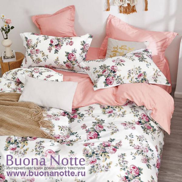 Комплект постельного белья Cleo Satin de Luxe 675-SK (размер 2-спальный)