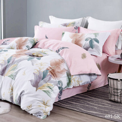 Постельное белье Cleo Satin de'Luxe 691-SK (размер 1,5-спальный)