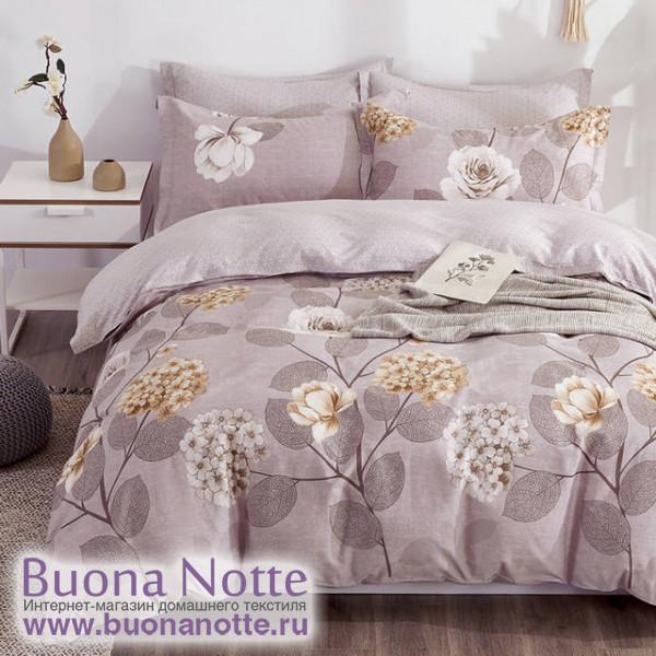 Комплект постельного белья Cleo Satin de Luxe 700-SK (размер Семейный)