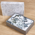 Комплект постельного белья Cleo Satin de Luxe 467-SK (размер Семейный)