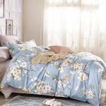 Комплект постельного белья Cleo Satin Lux 224-SL (размер 1,5-спальный)