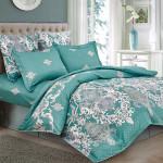 Комплект постельного белья Cleo Satin Lux 319-SL (размер Семейный)