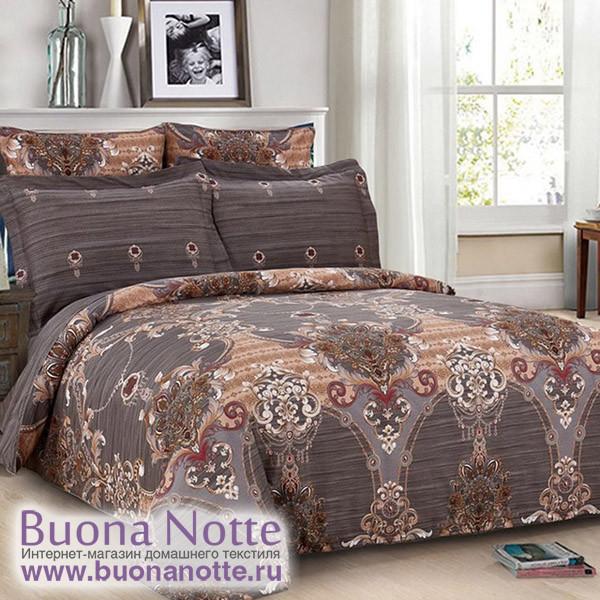 Комплект постельного белья Cleo Satin Lux 394-SL (размер 1,5-спальный)