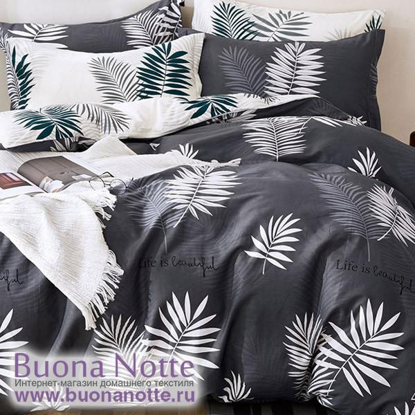 Комплект постельного белья Cleo Satin Lux 406-SL (размер 1,5-спальный)