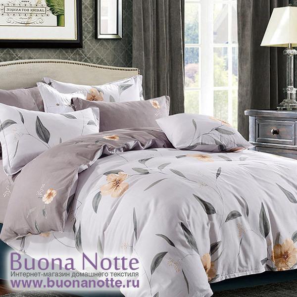 Комплект постельного белья Cleo Satin Lux 408-SL (размер Семейный)