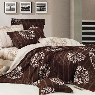 Постельное белье Cleo Satin Lux 409-SL (размер 1,5-спальный)