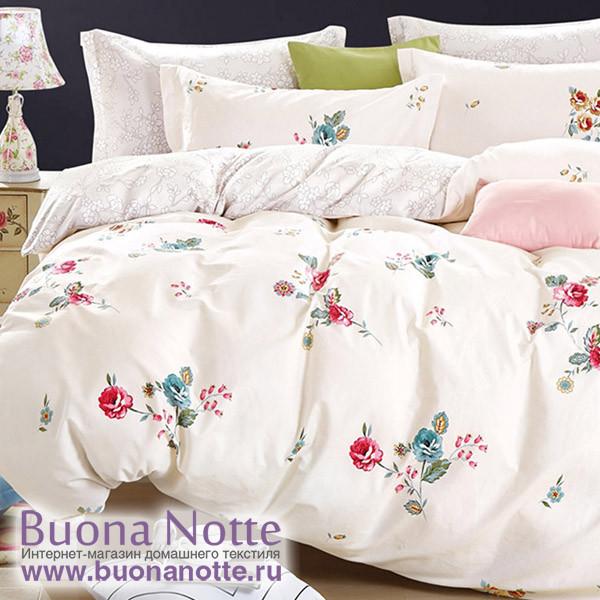Комплект постельного белья Cleo Satin Lux 415-SL (размер 1,5-спальный)