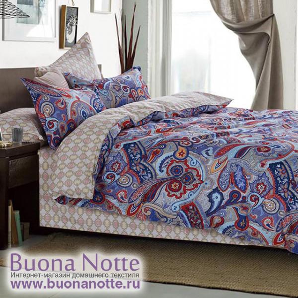Комплект постельного белья Cleo Satin Lux 462-SL (размер 2-спальный)
