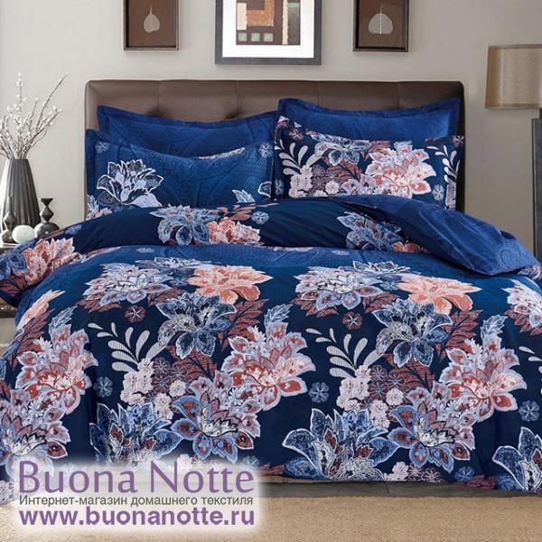 Комплект постельного белья Cleo Satin Lux 472-SL (размер Евро)