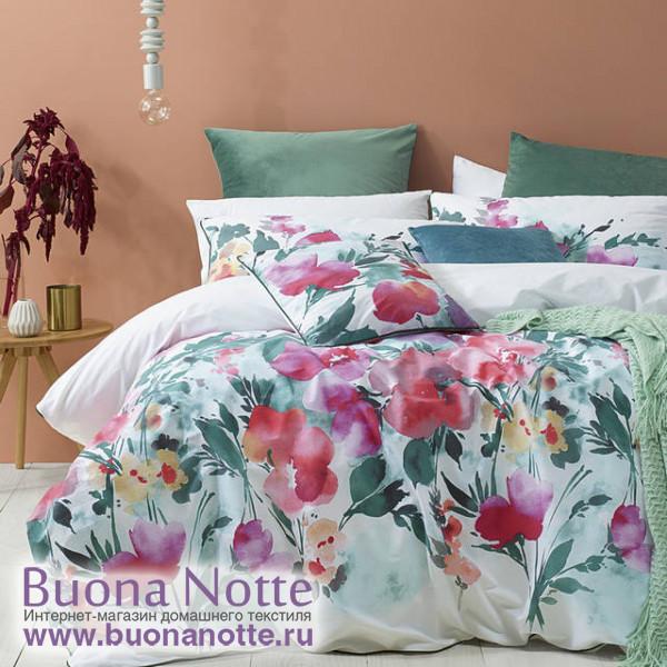 Комплект постельного белья Cleo Satin Lux 504-SL (размер Евро)