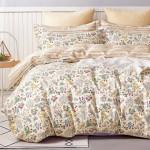 Комплект постельного белья Cleo Satin Lux 505-SL (размер Семейный)