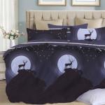 Комплект постельного белья Cleo Satin Lux 523-SL (размер Евро)