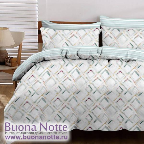 Комплект постельного белья Cleo Satin Lux 551-SL (размер Семейный)