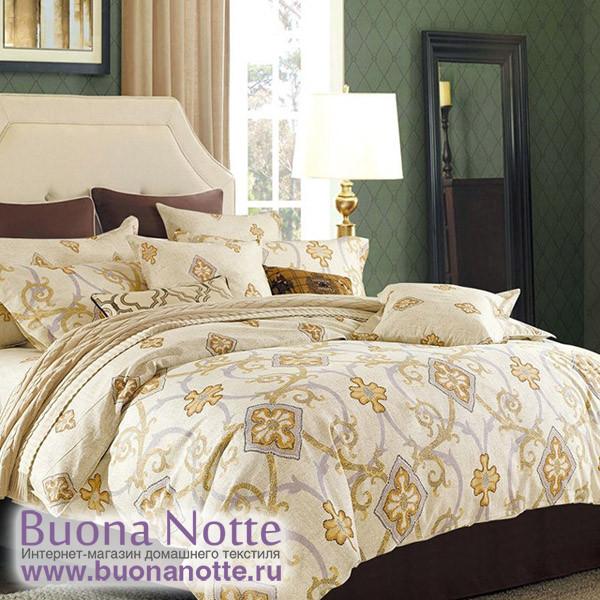 Комплект постельного белья Cleo Satin Reactive 019-SR (размер 1,5-спальный)