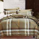 Комплект постельного белья Cleo Satin Reactive 057-SR (размер Семейный)