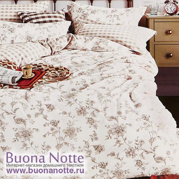 Комплект постельного белья Cleo Satin Reactive 058-SR (размер 1,5-спальный)