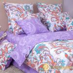 Постельное белье Хлопковый край бязь Кемер перламутр (размер 1,5-спальный)