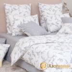 Постельное белье Хлопковый край бязь Модена муссон (размер 1,5-спальный)