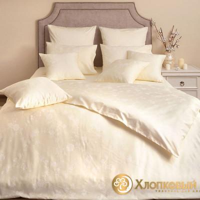 Постельное белье Хлопковый край сатин Амелия (размер 1,5-спальный)
