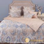 Постельное белье Хлопковый край сатин Болонья агат (размер 2-спальный)