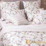 Постельное белье Хлопковый край сатин Элина (размер 2-спальный)
