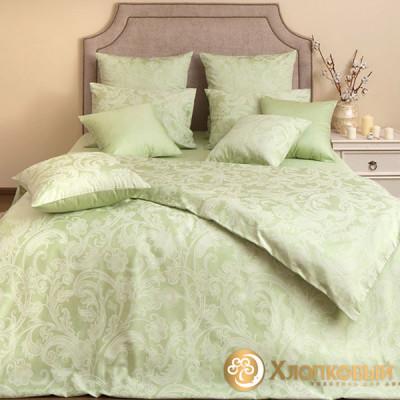 Постельное белье Хлопковый край сатин Грейс (размер 1,5-спальный)