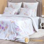 Постельное белье Хлопковый край сатин Киото (размер 2-спальный)