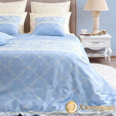 Постельное белье Хлопковый край сатин Луара (размер 1,5-спальный)