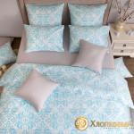 Постельное белье Хлопковый край сатин Тиффани (размер 1,5-спальный)