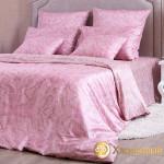 Постельное белье Хлопковый край сатин Турин Пудра (размер 2-спальный)