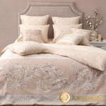 Постельное белье Хлопковый край сатин Верона беж (размер 2-спальный)