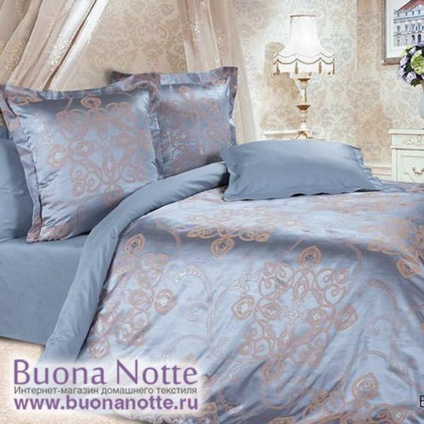 Постельное белье Ecotex Estetica Борнео в чемодане (размер 1,5-спальный)