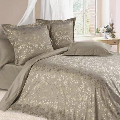 Постельное белье Ecotex Estetica Брианза в чемодане (размер 1,5-спальный)