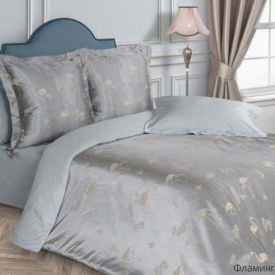 Постельное белье Ecotex Estetica Фламинго (размер 1,5-спальный)