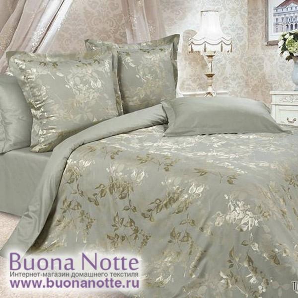 Постельное белье Ecotex Estetica Тюильри в чемодане (размер 1,5-спальный)