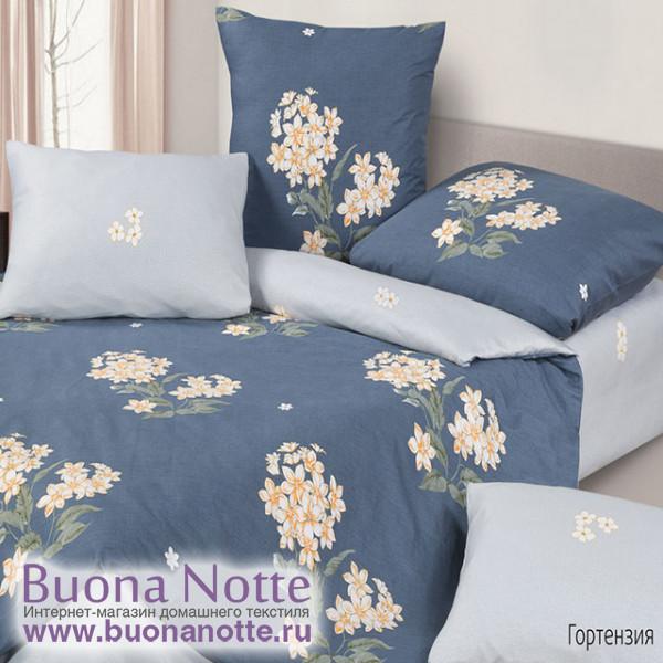 Постельное белье Ecotex Harmonica Гортензия (размер 2-спальный)