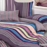 Постельное белье Ecotex Harmonica Радужный (размер 1,5-спальный)