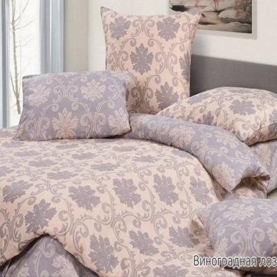Постельное белье Ecotex Harmonica Виноградная лоза (размер 2-спальный)
