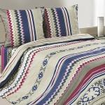 Постельное белье Ecotex Poetica Амиго на резинке (размер 2-спальный)