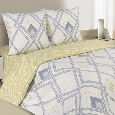 Постельное белье Ecotex Poetica Аргайл (размер 1,5-спальный)