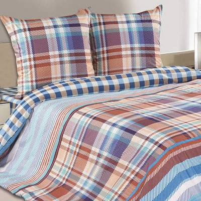 Постельное белье Ecotex Poetica Блюз (размер 1,5-спальный)