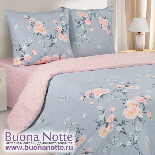 Постельное белье Ecotex Poetica Чувство на резинке (размер 2-спальный)