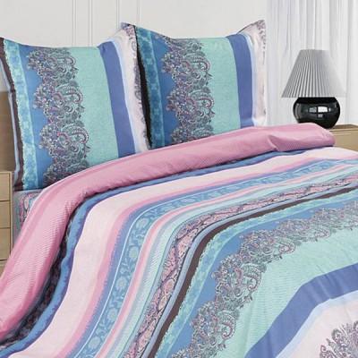 Постельное белье Ecotex Poetica Дежавю на резинке (размер 2-спальный)