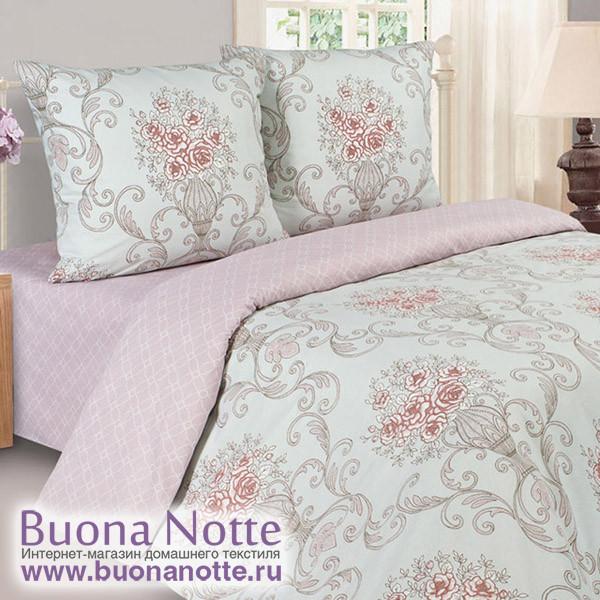 Постельное белье Ecotex Poetica Донна Роза (размер 1,5-спальный)