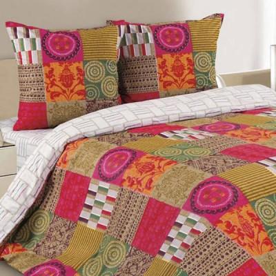 Постельное белье Ecotex Poetica Дюамель на резинке (размер 2-спальный)