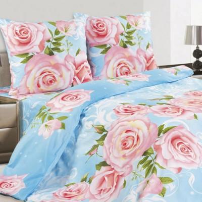 Постельное белье Ecotex Poetica Флорена на резинке (размер 2-спальный)