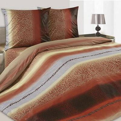 Постельное белье Ecotex Poetica Гепард на резинке (размер 2-спальный)