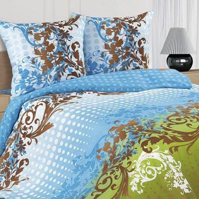 Постельное белье Ecotex Poetica Каскад на резинке (размер 2-спальный)