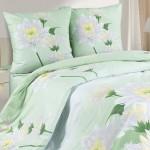 Постельное белье Ecotex Poetica Королевская кувшинка (размер 2-спальный)